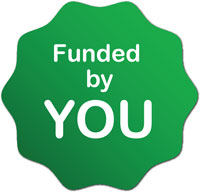 Rachel & The TreeSchoolers is funded by you!