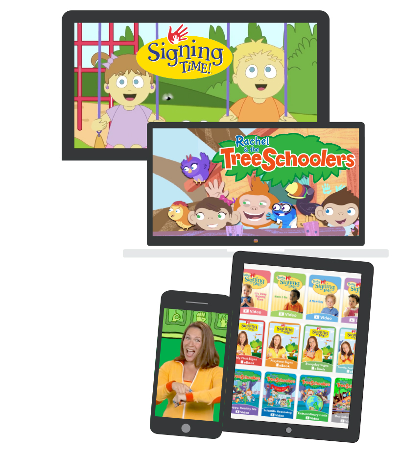 Digital Subscription To Signing Time Baby Sign Language Learning System